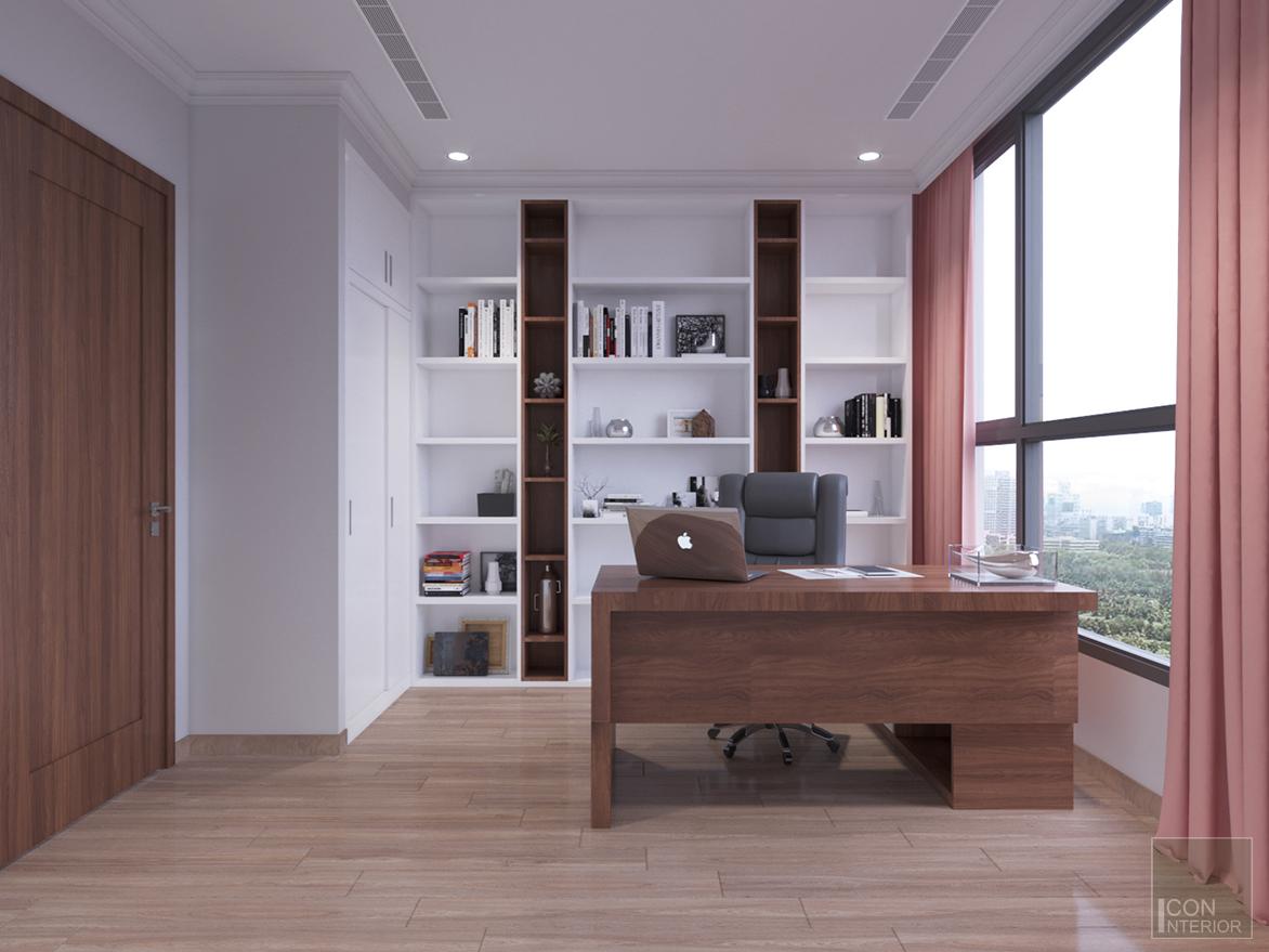 Thiết kế phòng master ngủ căn hộ 2 phòng ngủ dự án Greenfield 686